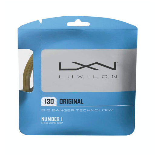 Wilson Luxilon Original 130 16G Amber Tennis String Set - atr-sports