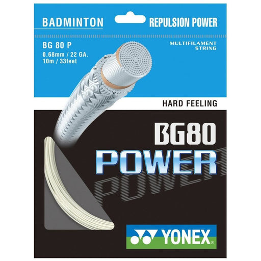 Yonex Badminton String BG80 Power 10m-ATR Sports