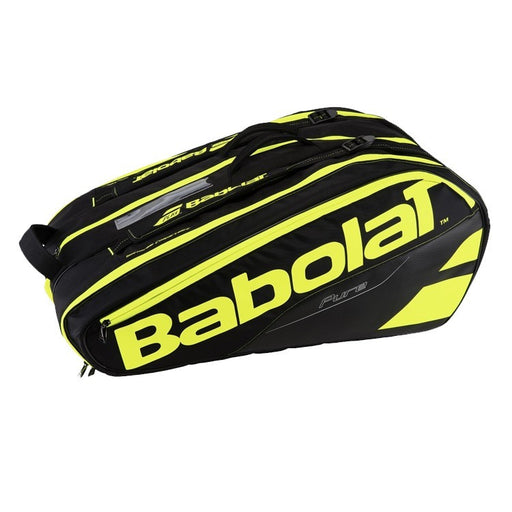 Babolat RH X 12 Pure Racquet Bag in Black/Fluo Yellow - atr-sports