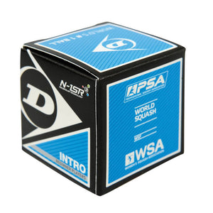Dunlop Intro Squash Ball - Single-ATR Sports