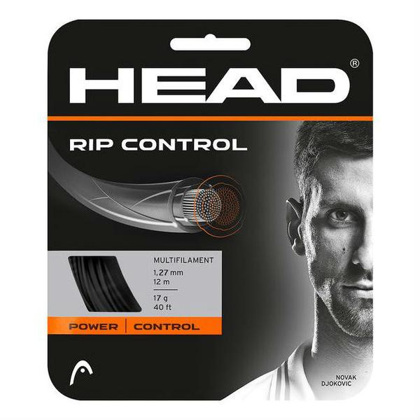 Head RIP Ccontrol 17 Tennis String in Black