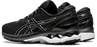 Asics Men's Gel-Kayano 27 Running Shoes in Black/Pure Silver