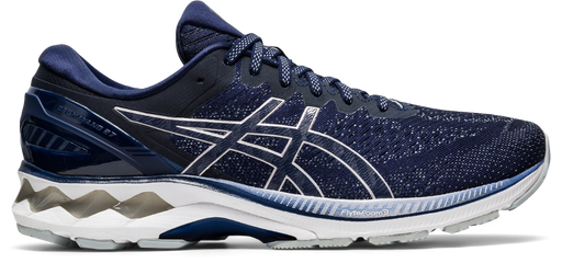 Asics Men's Gel-Kayano 27 Running Shoes in Peacoat/Piedmont Grey