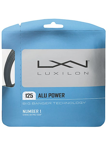 Luxilon Alu Power 125 Tennis String in Silver