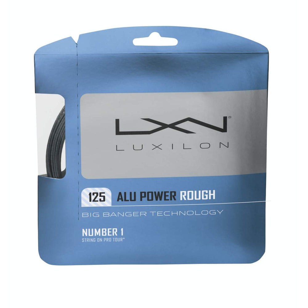 Luxilon Alu Power Rough 125 Tennis String in Silver