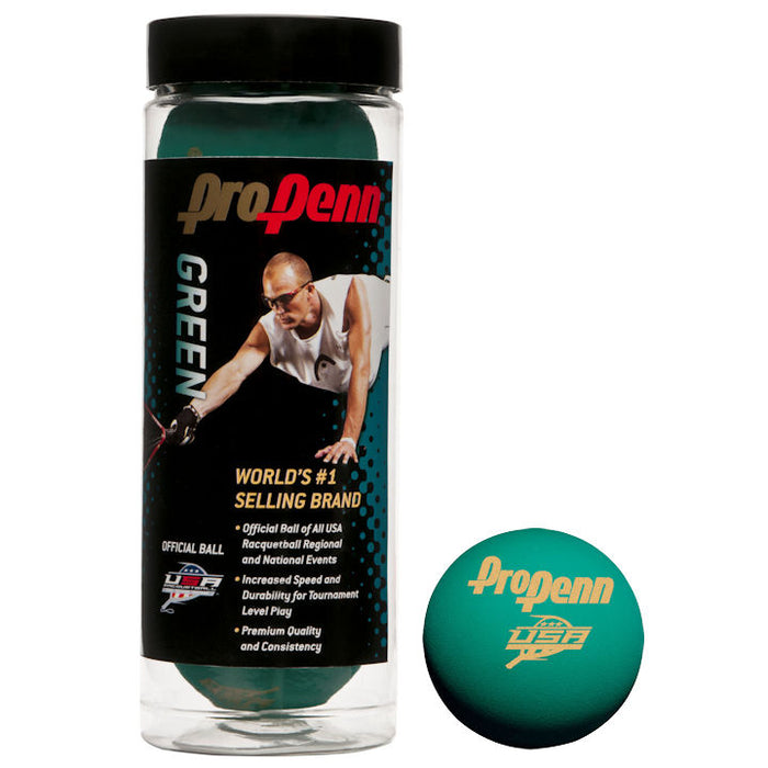Pro Penn Green 3 Ball Can - atr-sports