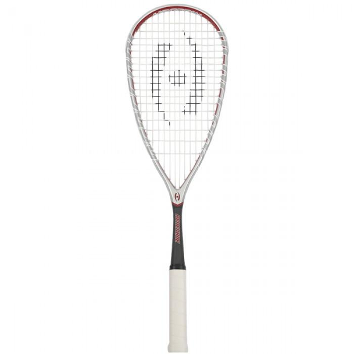 Harrow Renegade Squash Racquet in Grey/Red/Black - atr-sports