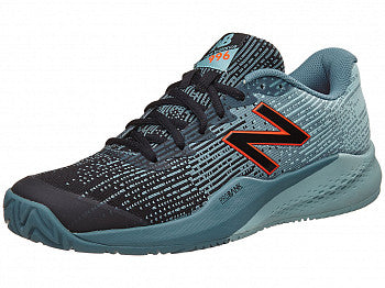 New Balance Men's 996 V3 Tennis Shoes in Orange/Blue - atr-sports