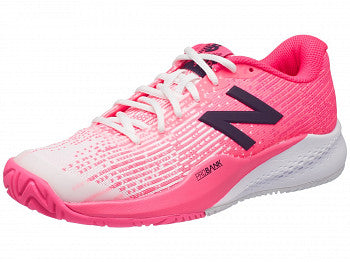 New Balance Women's 996 V3 Tennis Shoes in Pink - ATR Sports