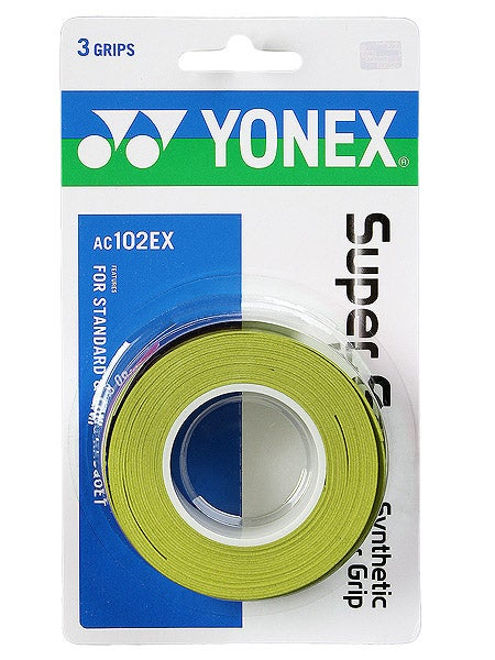 Yonex Super Grap Synthetic Overgrip (3 Pack) - atr-sports