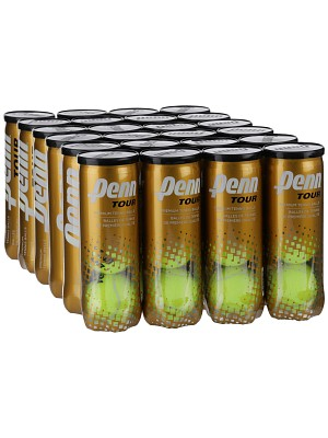Penn ATP World Tour Extra Duty 3 Tennis Ball Case - 24 Cans - atr-sports