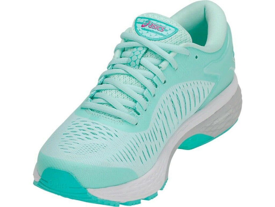 Asics Women's Gel-Kayano 25 Running Shoes in Icy Morning/Sea Glass - atr-sports
