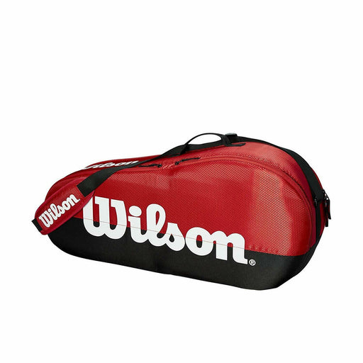 Wilson Team 1 Compartment Small Racquet Bag in Red/Black