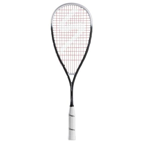 SALMING GRIT FEATHER Squash Racquet - BLACK/WHITE
