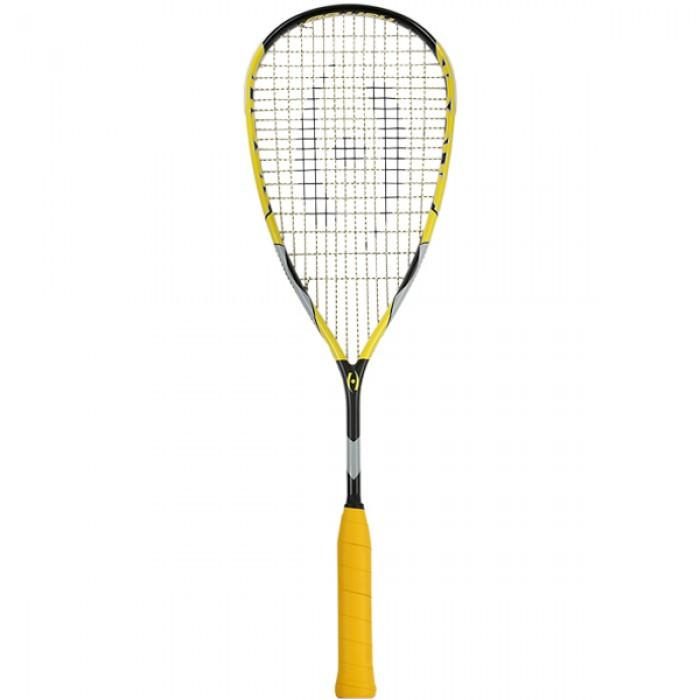 Harrow Shock Squash Tennis Racquet in Black/Yellow - atr-sports
