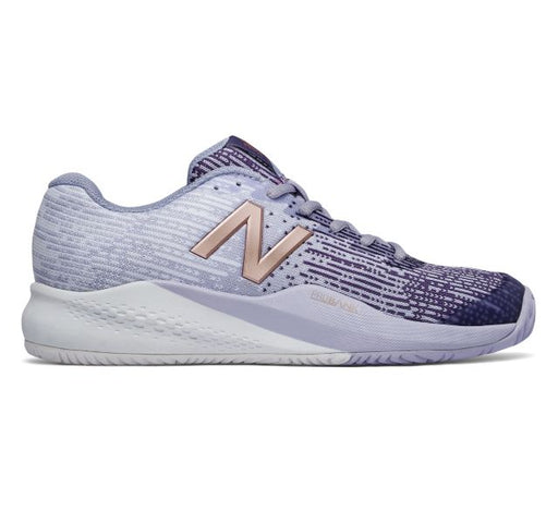 New Balance Women's 996 V3 Tennis Shoes in Purple/Blue - atr-sports