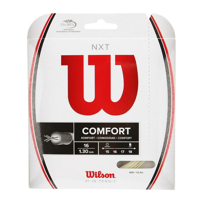 Wilson NXT 16 Tennis String in Natural