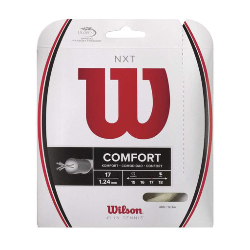 Wilson NXT 17 Tennis String in Natural