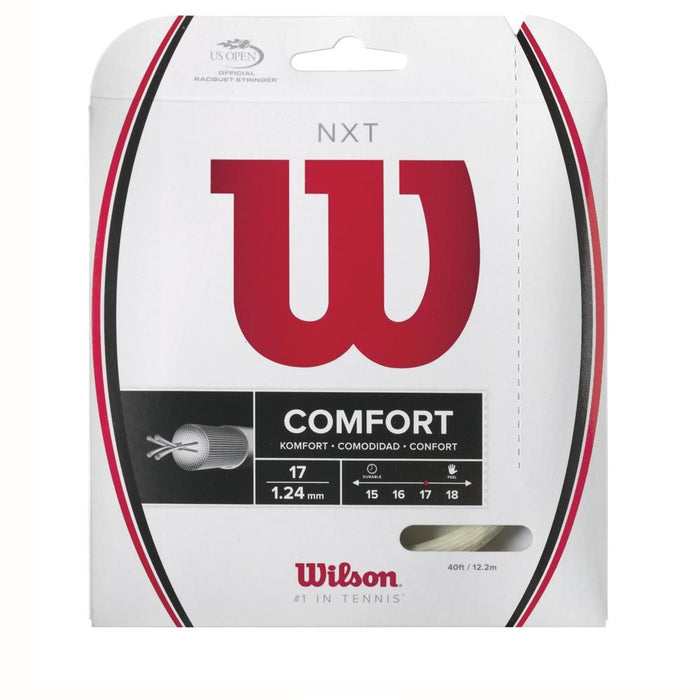 Wilson NXT Comfort 17 Natural Tennis String Set