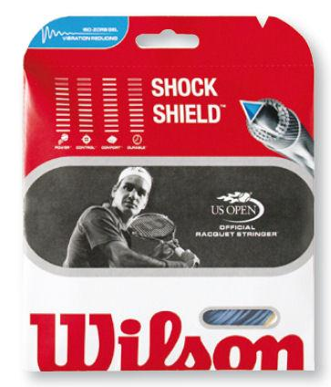 Wilson Shock Shield 16 Tennis String in Blue