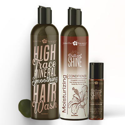 High Trace Mineral Smoothing Hair Wash Trio