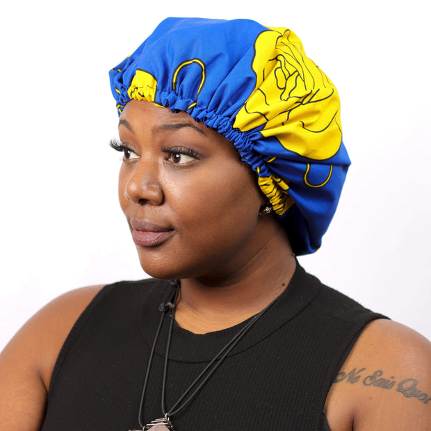 Flower Bomb Bonnet by Candace Cort Designs
