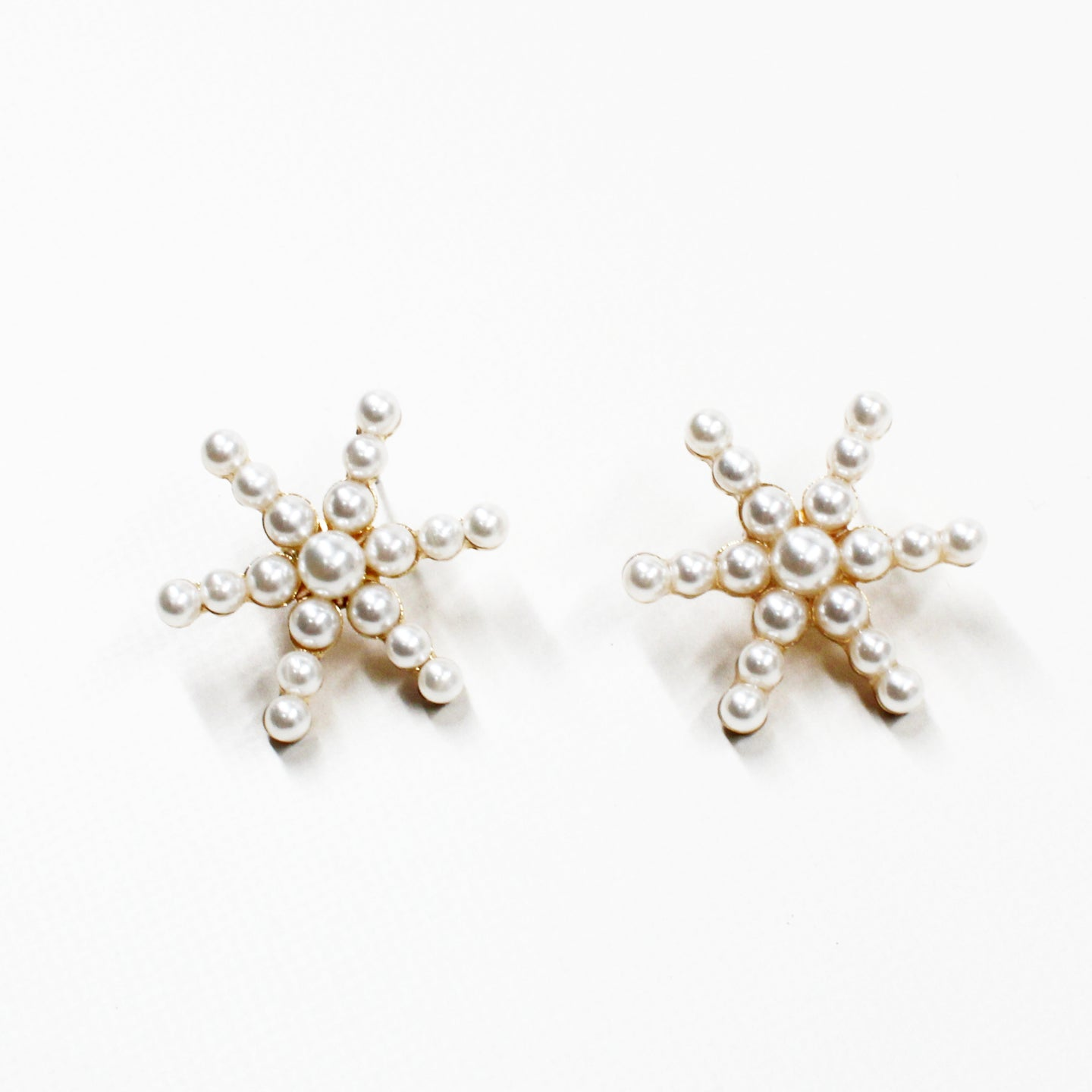 Asterisk Pear Statement Earring