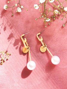 Clementine Charm Earring - Beauté de la Perle Collection
