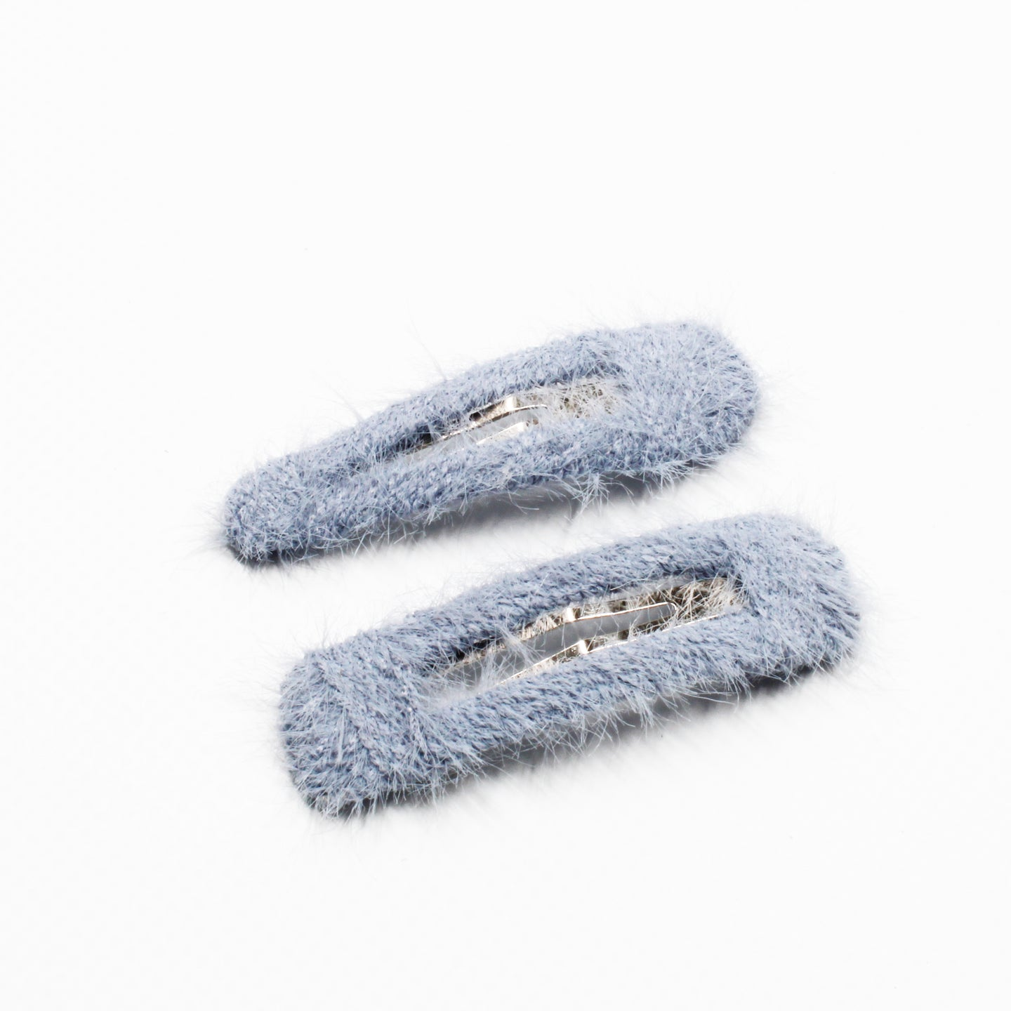 Floof Snap Clip Set - Baby Blue