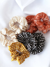 Load image into Gallery viewer, Gingham Scrunchies (4 colours)