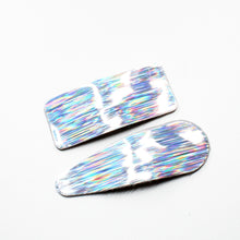 Load image into Gallery viewer, Holographic Snap Barrettes