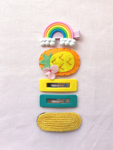 Summer's Day Rainbow Clip Pack
