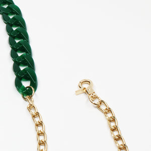 Jade Acrylic Interchangeable Bag Chain