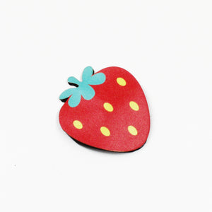Large Strawberry Hair Barrette