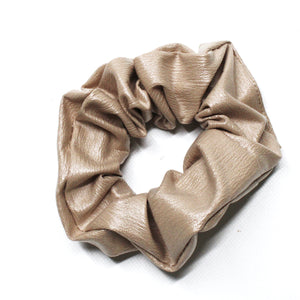 Leatherette Scrunchie - Rhino