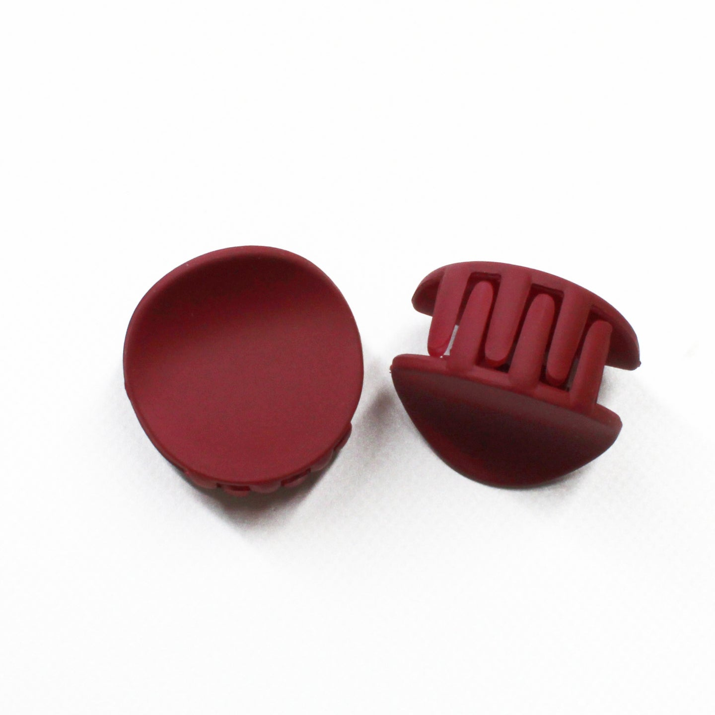 Matte About You Mini Clips - Deep Red