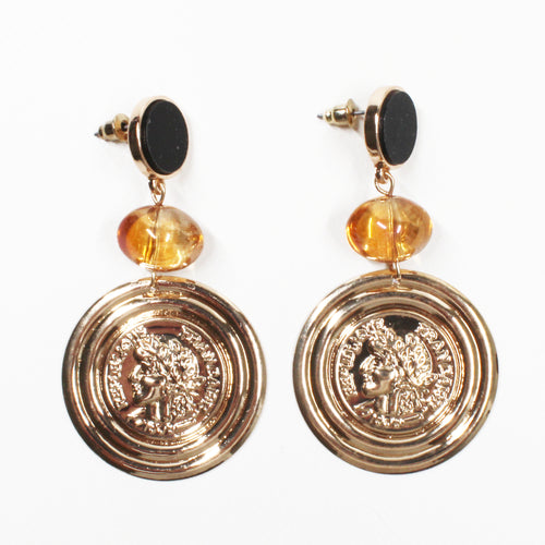 Mallorca Statement Dangle Earring