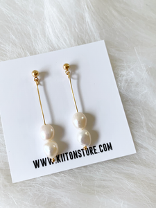 Monte Simple Pearl Earring