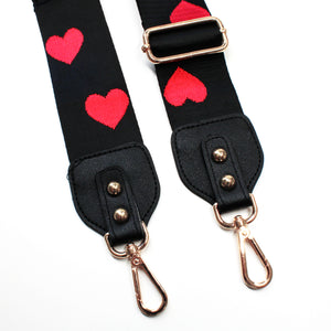 Queen of Hearts Interchangeable Bag Belt