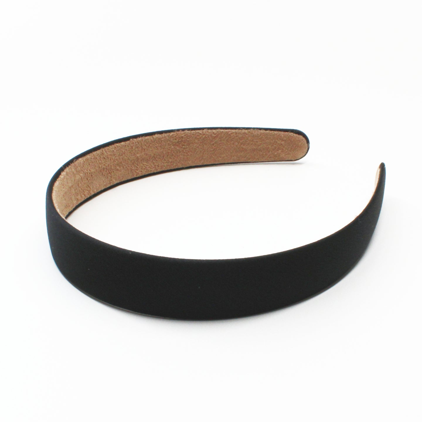 Lottie Satin Headband - Black