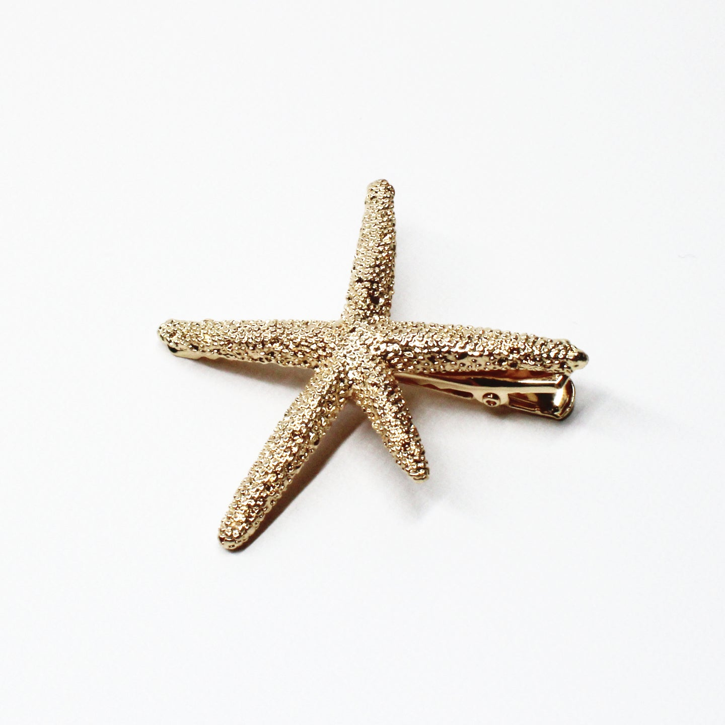 Statement Starfish Clip - Gold