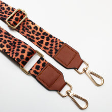 Load image into Gallery viewer, Cheetah Interchangeable Bag Strap