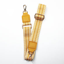 Load image into Gallery viewer, Weave Fabric Bag Belt - Mustard