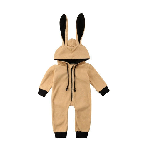 Bunny Ear Hooded Jumpsuit (3 - 24 M)