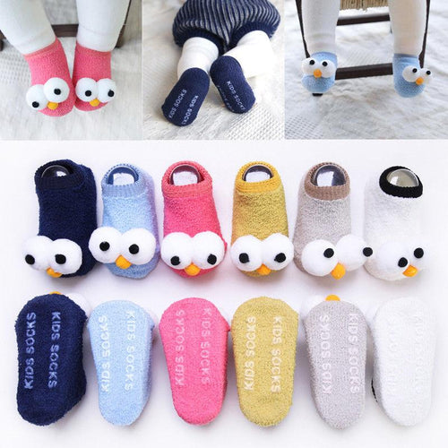 Anti-Slip Winters Unisex Wool Socks (0 - 15 M)