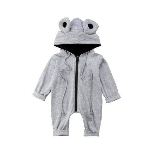 Round Eared Cute Jumpsuit (3 - 18 M)