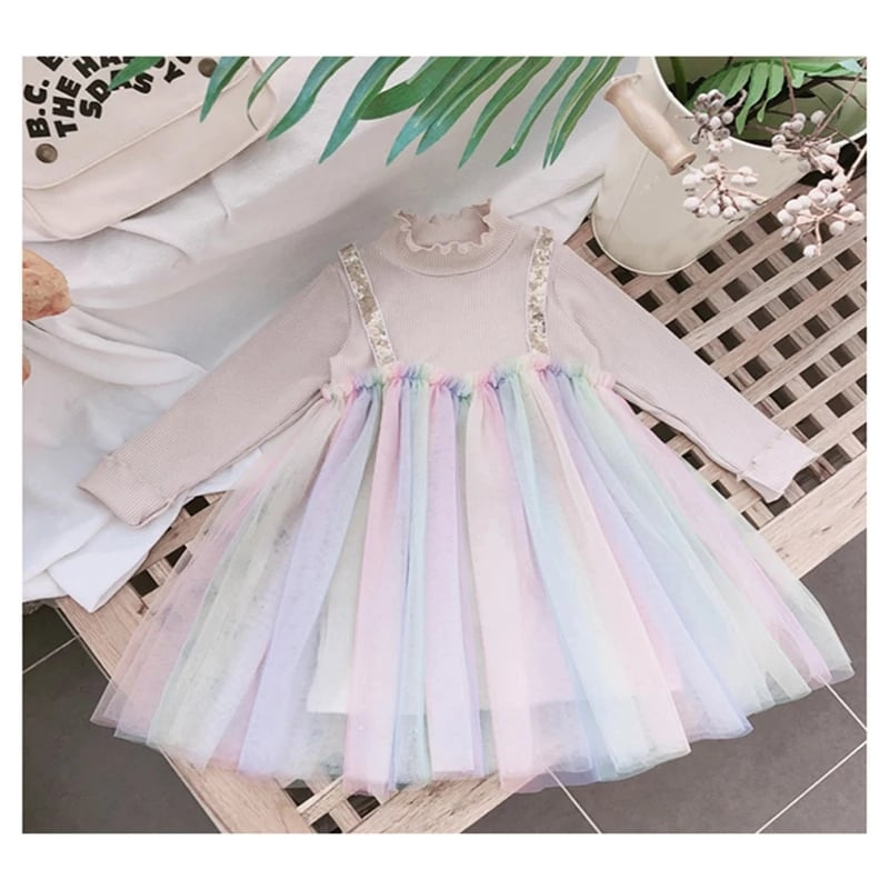 Fairy Rainbow Princess Outfit - Sizes 3 to 8 years