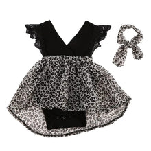 Load image into Gallery viewer, Leopard Printed Pageant Frock (3 M - 5 Y)