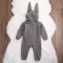 Load image into Gallery viewer, Big Bunny Ear Romper Jumpsuit (0 - 24 M)