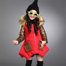Load image into Gallery viewer, Fur Hooded Frock Styled Jacket (18M - 8Y)